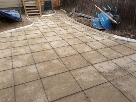 sted concrete patios