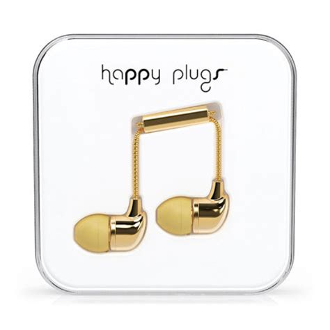 happy deluxe edition happy plugs inear kopfh 246 rer deluxe edition in gold