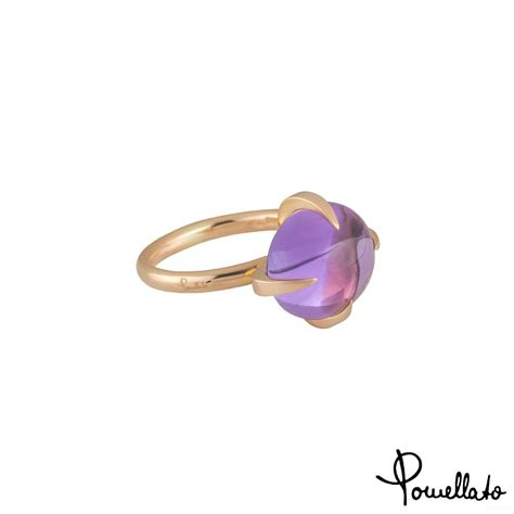 veleno pomellato pomellato veleno amethyst ring rich diamonds of bond