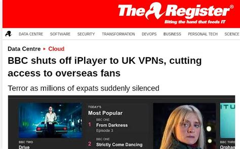 iplayer outside uk workaround iplayer vpn not working iplayer outside the uk