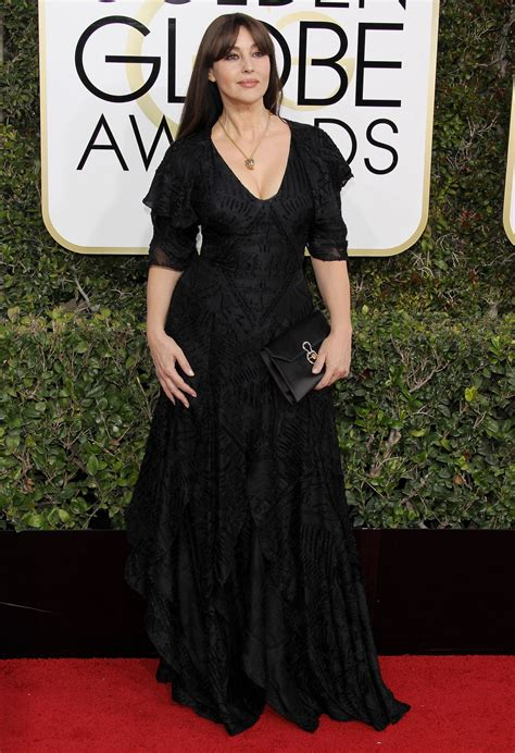 monica bellucci awards monica bellucci golden globe awards in beverly hills 01