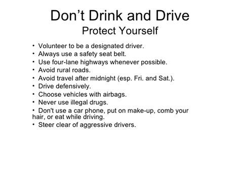 Driving Prevention Essay by Dont Drink Drive