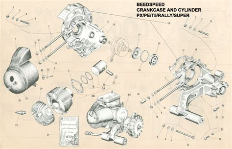 vespa scooter parts diagram vespa free engine image for