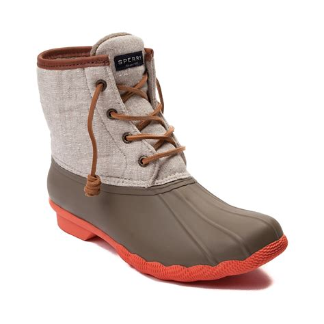 womans shoe boots sperry snow boots womens luxury orange sperry snow boots
