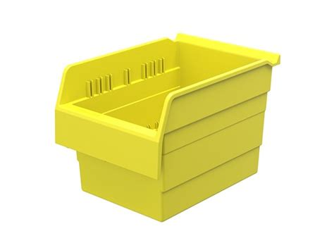 plastic nesting shelf bin box 8 bins