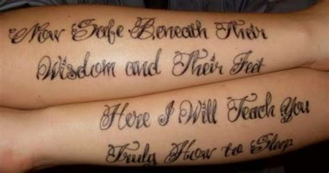 thrice tattoo thrice lyrics