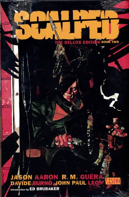 scalped deluxe edition hc 1401263631 scalped hc book 02 deluxe edition mr discount comic book service