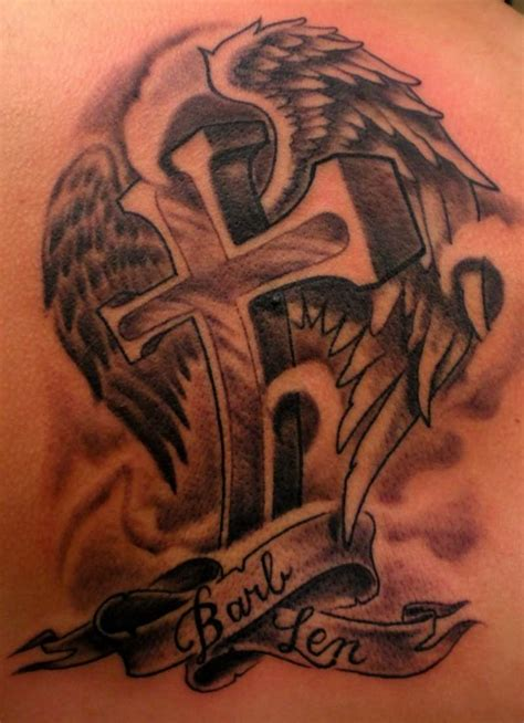 cross memorial tattoo designs 37 memorial tattoos