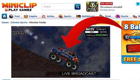 miniclip monster truck how to play monster truck on miniclip com 7 steps with