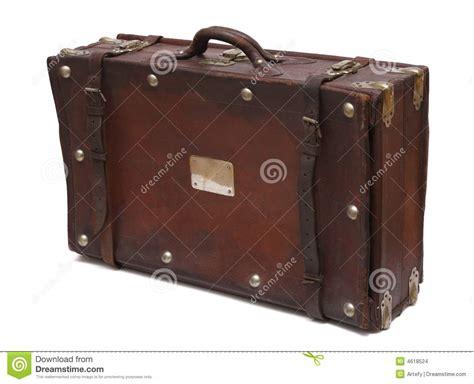 alter reisekoffer alter koffer stockbilder bild 4618524