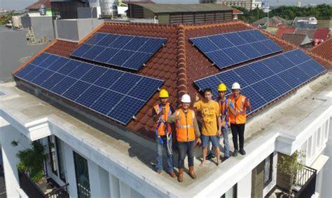 Panel Surya Untuk Satu Rumah pakai panel surya tagihan listrik bisa hemat rp1 jutaan