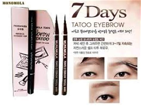 Dijamin Monomola Eyebrow Tatoo Eyebrow 7 Days korea 7 days eyebrow pen liner lasting cosmetic eye makeup brow color br001