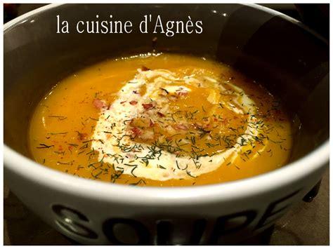 la cuisine d agnes velout 233 de potimarron au fenouil blogs de cuisine