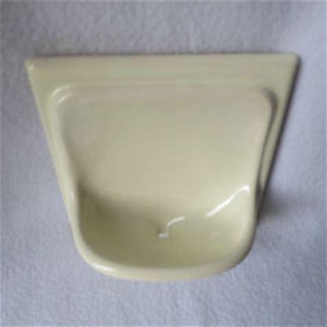 fliese creme alte keramik seifenschale kachel mit seifenablage zum