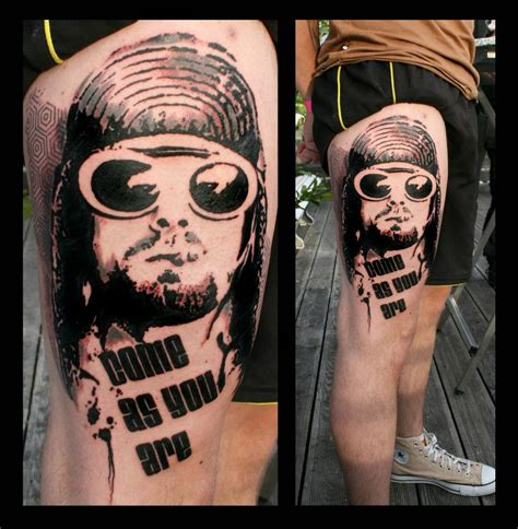 kurt cobain tattoo best 45 kurt cobain tattoos nsf