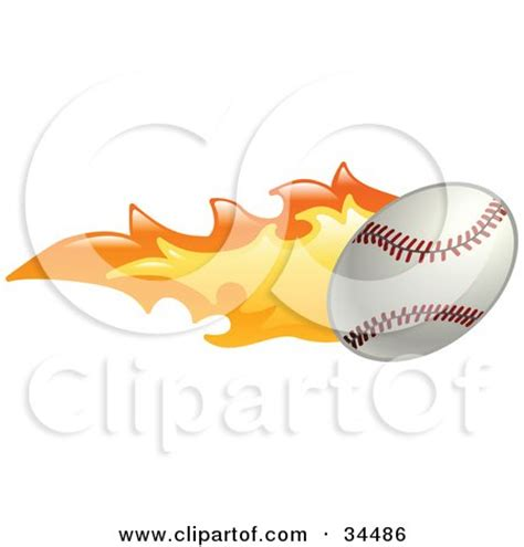 clipart of a baseball in the shape of a heart royalty