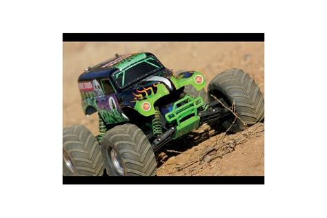 traxxas grave digger rc monster truck traxxas monster jam grave digger xl 5 electric rc remote