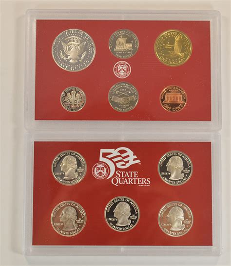 2004 silver proof quarter set silver 2004 s 11 coin deep cameo u s proof set included