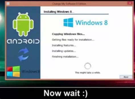 install android on windows tablet install windows 8 1 8 7 xp on android mobile tablet dual boot