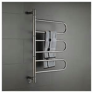 Rack Curtains 壁掛けタオルウォーマー タオルハンガー 簡易乾燥 ステンレス鋼 180 176 回転可能 コンセント付 60w