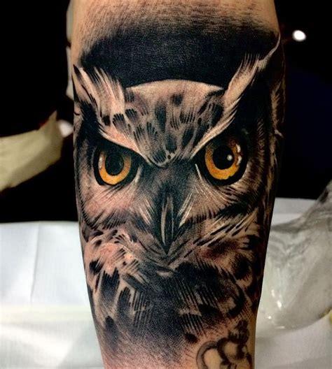 owl tattoos  men improb