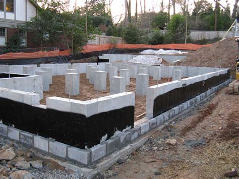basement foundations construction foundation learn how to build your own home and save 30 nihb