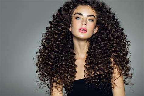 tight perms for long hair curly hairstyles for long hair 19 kinds of curls to consider