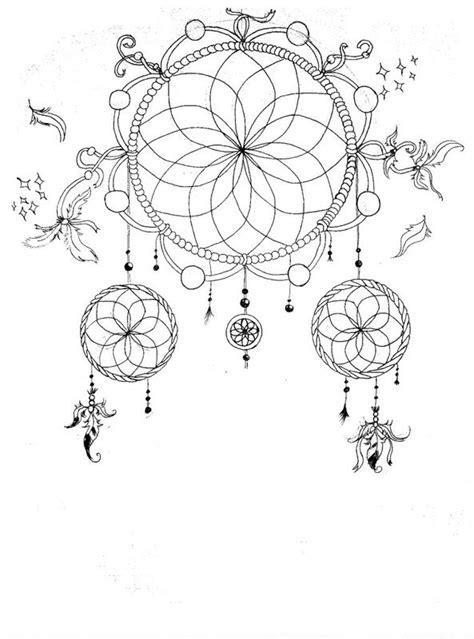 coloring pages of dream catchers animal coloring pages dream catchers am catcher