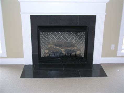 Marble Tile Fireplace Surround by Granite Fireplace Surrounds