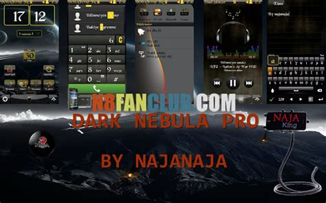 themes hd nokia n8 dark nebula pro theme with 30 hd wallpapers and custom