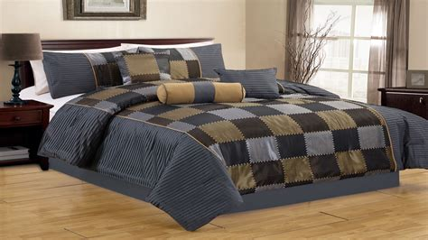Charcoal Comforter by Gold Comforter Set Charcoal Quilt Charcoal And Gold