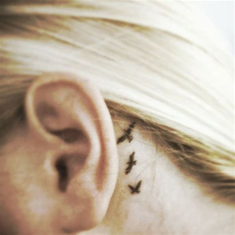 small tattoo ideas for behind the ear best 25 ear tattoos ideas on the ear