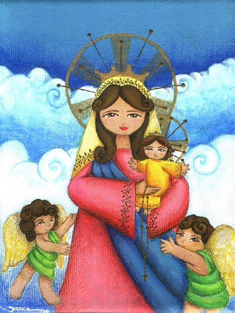 imagenes virgen maria caricatura 14 im 225 genes de la virgen mar 237 a en caricaturas im 225 genes