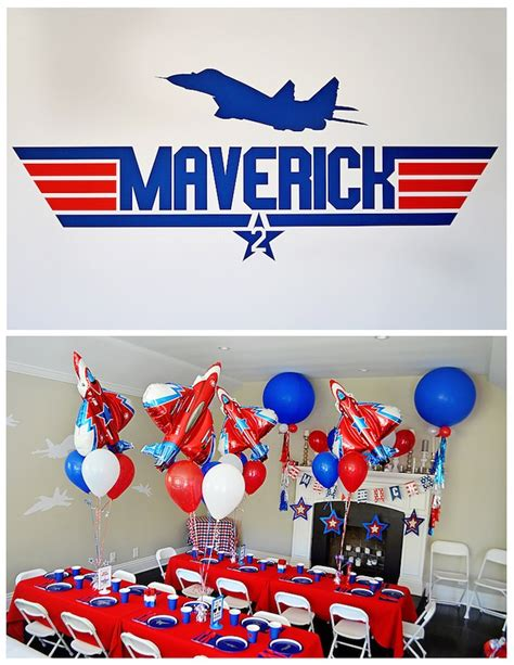 kara s party ideas top gun themed birthday party