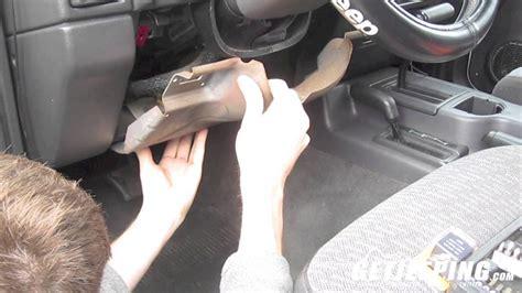 replacing flasherturn signal relay     jeep