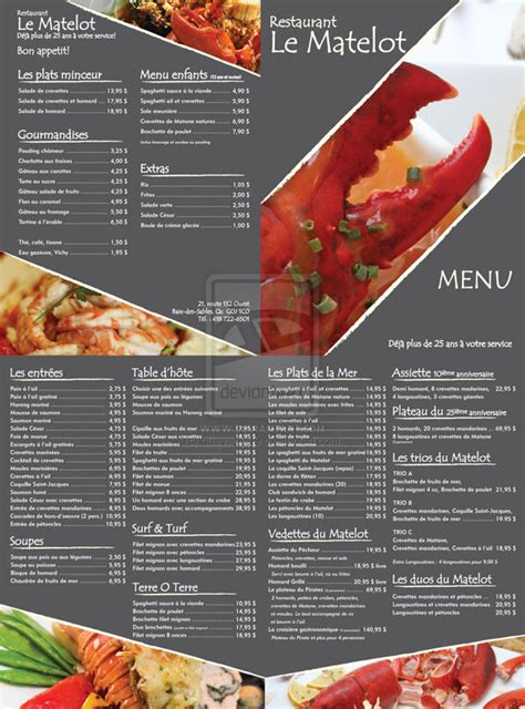 sle restaurant brochure 65 restaurant menu brochure designs for designers