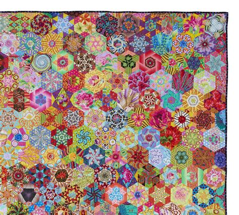 Hexagon Patchwork Quilt - 1000 images about quilty hexagon on hexagon
