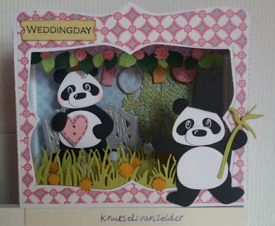 Ineke Panda knutsels zolder bruiloft