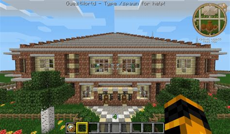 building a mansion stone mansion minecraft project