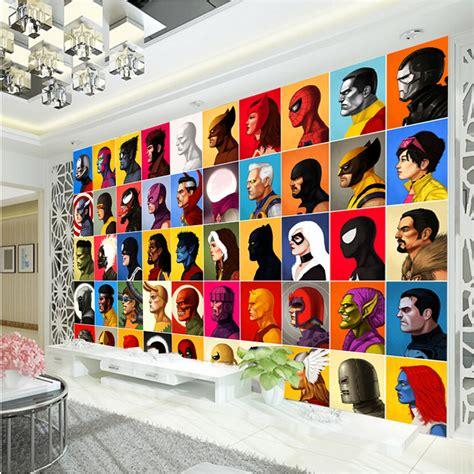 spiderman wallpaper for bedroom superhero comics wallpaper spiderman wall mural captain