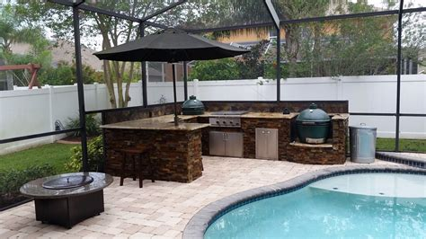 Big Green Egg Outdoor Kitchen by Creative Outdoor Kitchens Big Green Egg Creative Outdoor