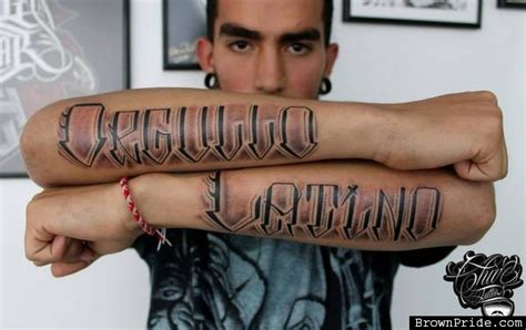 latino tattoos and designs