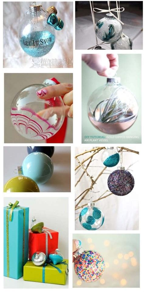 christmas ornaments do it yourself craft ideas