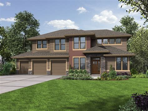 northwest house plan with finished lower level 69622am