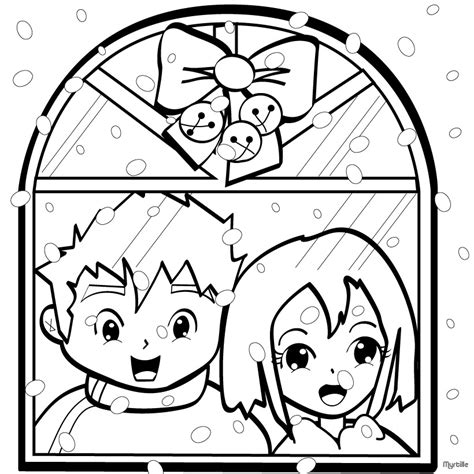 coloring pages christmas village christmas village coloring pages snowflakes on christmas