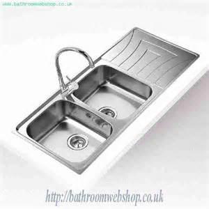 Teka Kitchen Sinks Stainless Steel Kitchen Sinks Inset Teka Universo 2b 1d Inset Kitchen Sink 10120005 Teka