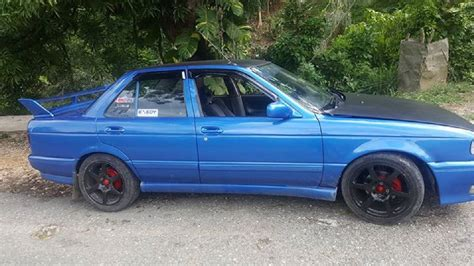 nissan sunny 1992 1992 nissan sunny b13 for sale in st mary jamaica for