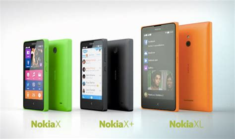 nokia android phones x series nokia x x xl nokia launched android based smartphones