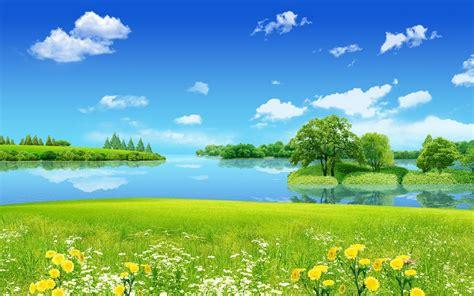 background pemandangan alam pemandangan pemandangan