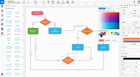 material design mockup maker online mockup wireframe ui prototyping tool 183 moqups
